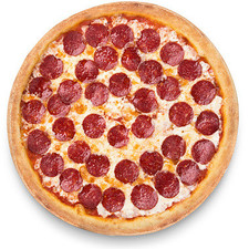 photo Pizza  Double pepperoni